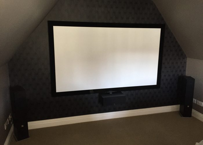 Home Cinema Installation 1