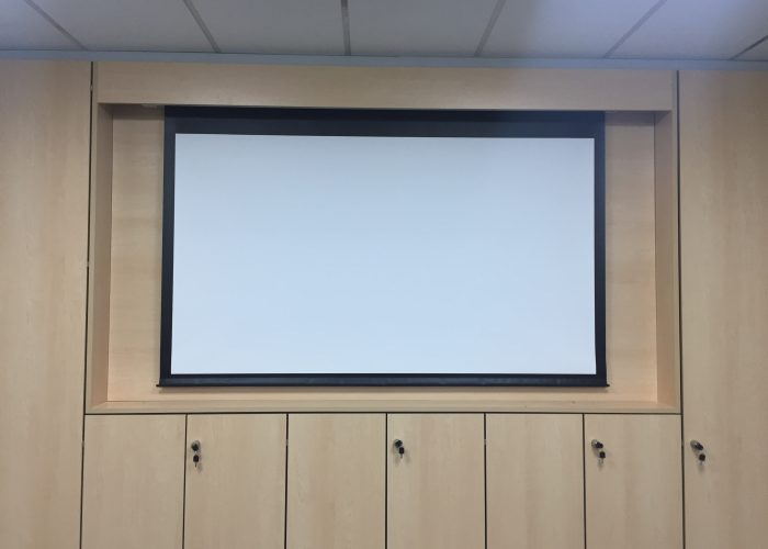 Projector Installation & Presentation System 4