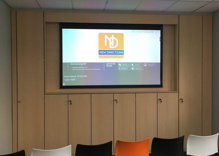 Projector Installation & Presentation System 5