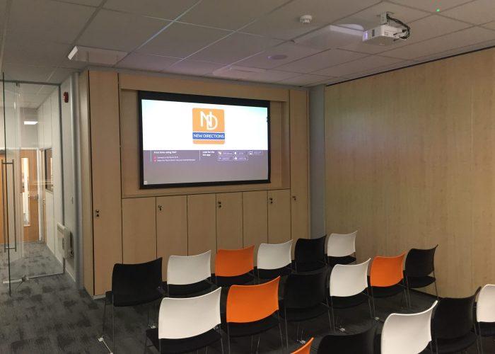 Projector Installation & Presentation System 6